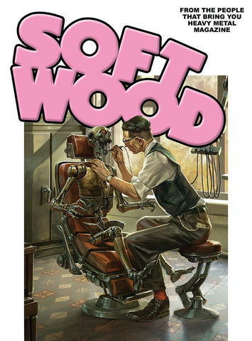 Soft Wood #1 Cover A - Cedric Peyravernay