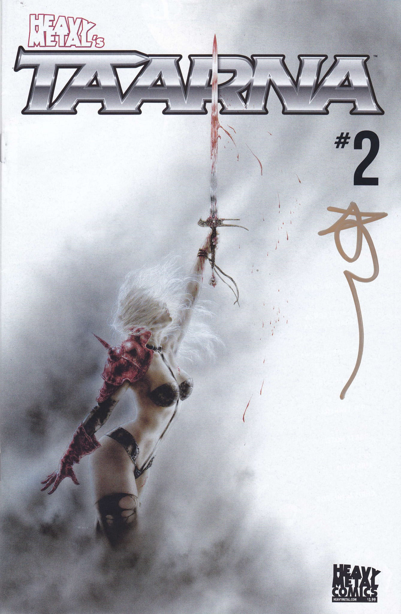 SIGNED Taarna - Issue #2 - Luis Royo - Cover A (Signed by Alex DeCampi)