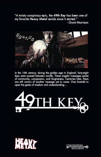 SIGNED 49th Key (Signed by Erika Lewis and JK Woodward)