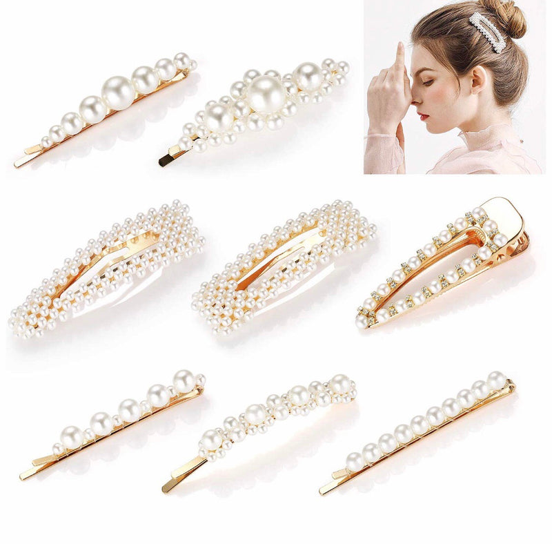 Perfection in Pearls Hair Clip