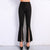 High Waist Split Leg Pants - Boss Beauty Boutique