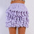 Kelsey Wave Ruffle Skirt Lavender - Boss Beauty Boutique