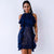 Tia Navy Blue Dress - Boss Beauty Boutique