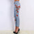 Floral Distressed Denim Jeans - Boss Beauty Boutique