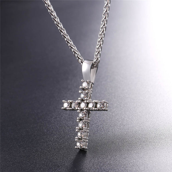 At the Cross Pendant Necklace
