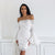 Kayla Dress White - Boss Beauty Boutique