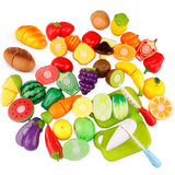 Plastic Kitchen Food Pretend Play Educational Toy