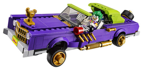 Batman Series The Joker Notorious Lowrider Lego Toy