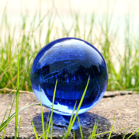 Magic Sphere Blue Crystal Ball