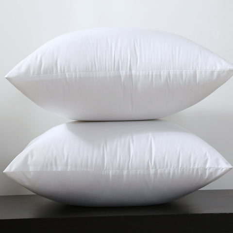 Square White Pillow Cushion Insert For Decorative Pillows Covers