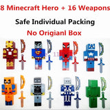 Minecraft Five Nights At Freddy's Action Figures