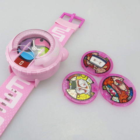 Yo-Kai Watch Kids Toy With 3 Medals & Music