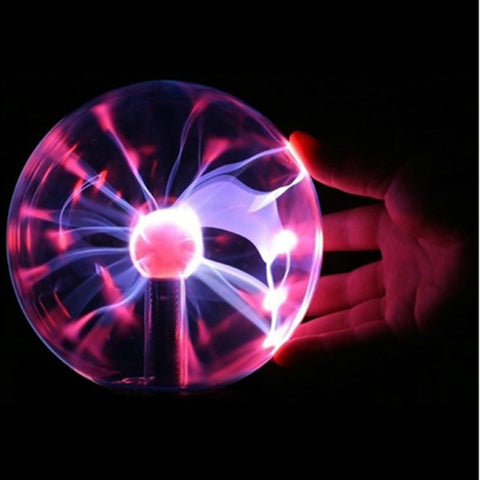 Magic Plasma Lightning Crystal Sphere Party Light