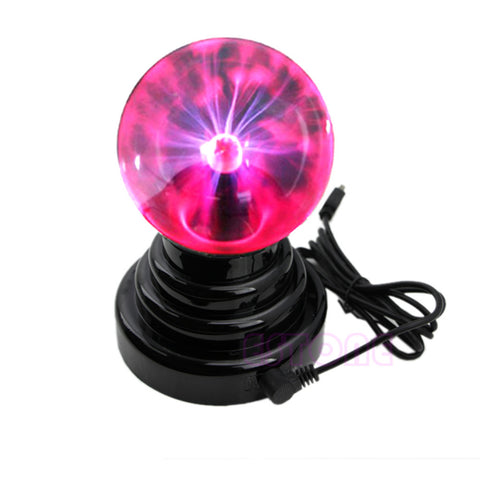 Magic Plasma Ball Lightning Sphere Party Lamp