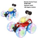LED Color Flash Music Remote Control Car