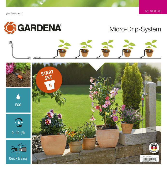 Gardena Start Set Flower Pots S - Mincost