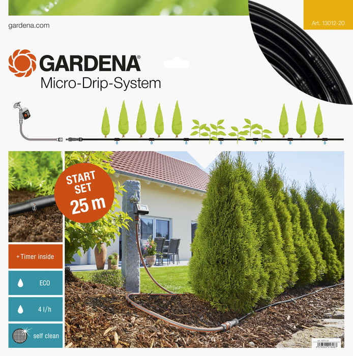 Gardena Start Set Rows Of Plants M Automatic - Mincost