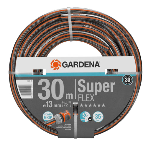 "Gardena Premium Superflex Hose Pipe 13Mm (1/2"") 30M - Mincost"