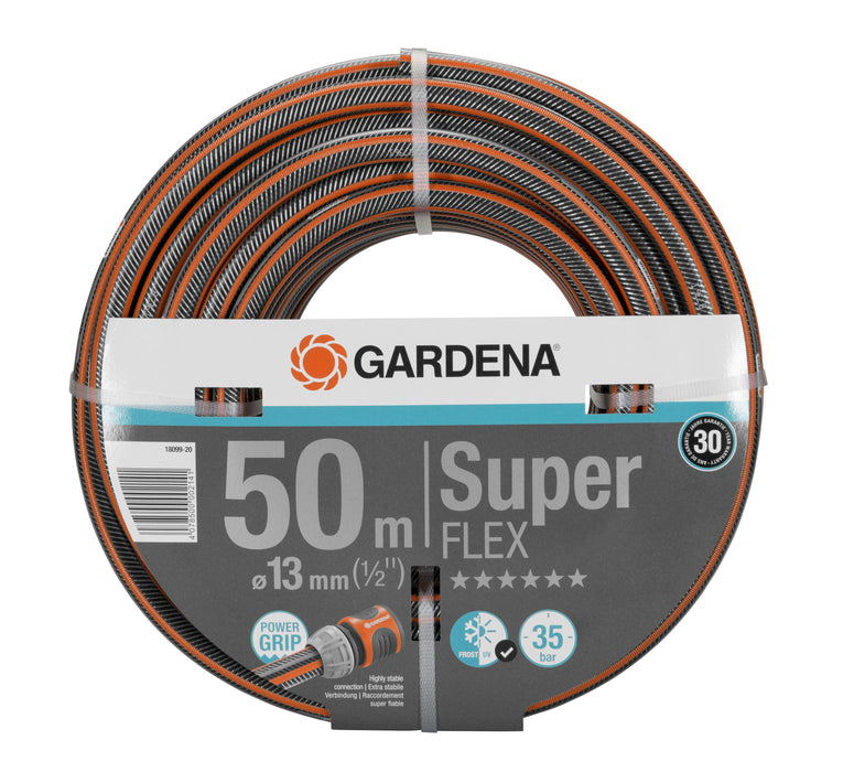 "Gardena Premium Superflex Hose Pipe 13Mm (1/2"") 50M - Mincost"