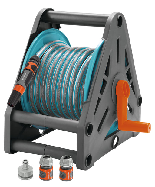 Gardena Hose Reel Set (15m hose included) Ready To Use - Mincost