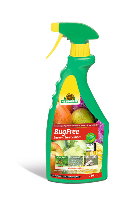 Neudorff BugFree Bug and Larvae Killer 750 ml