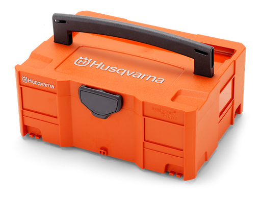 Husqvarna Battery Box Systainer, small (5 Batteries + Charger) - Mincost