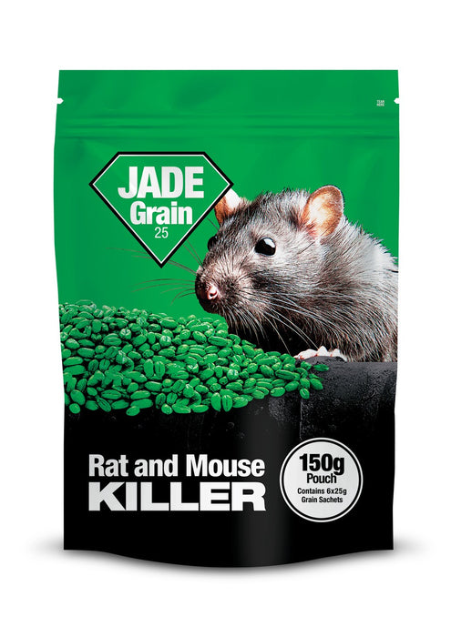 Jade Grain Rat Killer Poison 10 x 150g (1.5kg)