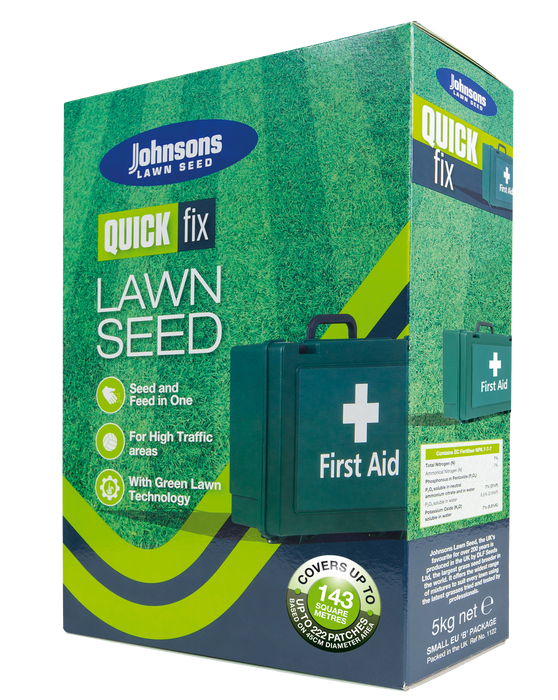 Johnsons Quick Fix 5kg (Growmore) 142sqm - Mincost