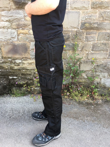 Scruffs Black Work Trousers