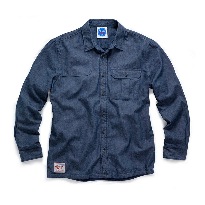 Scruffs Vintage Denim Lined Shirt - Mincost