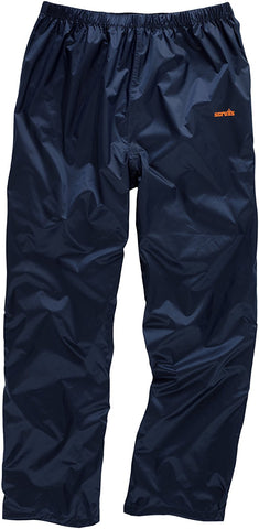 Scruffs Navy Pac-a-way Trousers