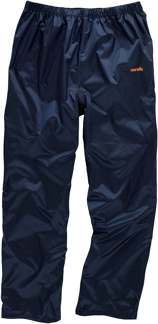 Scruffs Navy Pac-a-way Trousers Extra Large - Mincost
