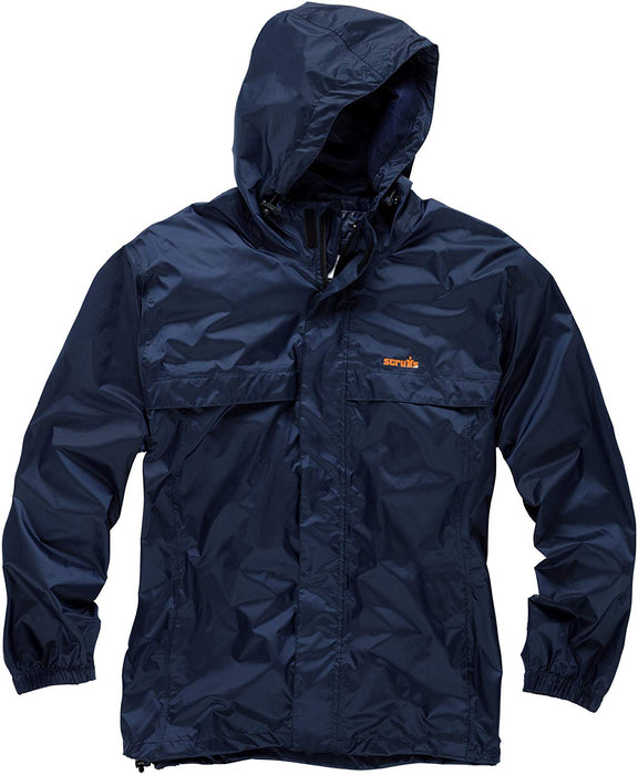 Scruffs Navy Pac-a-way Jacket Size Xl - Mincost