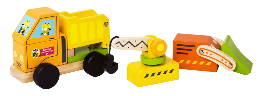 PBS Kids: Creative Construction 3-in-1 Construction Vehicle