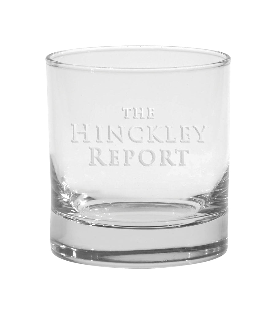 The Hinckley Report Rocks Glass