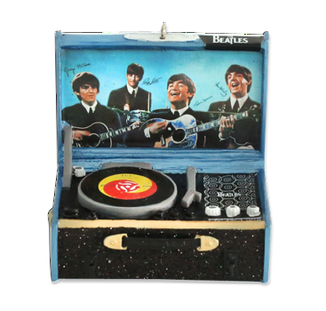 The Beatles: Record Player Ornament