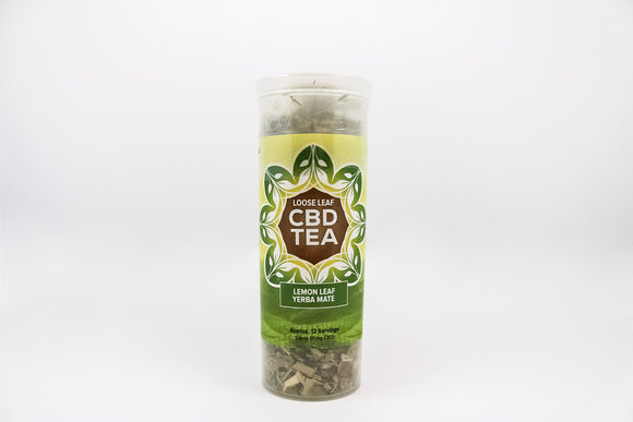 CBD - Lemon Leaf Yerba Mate