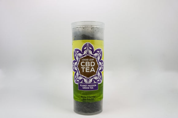 CBD - Planet Passion Green Tea