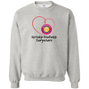 Unisex Crewneck Pullover Sweatshirt - Sprinkle Kindness Everywhere