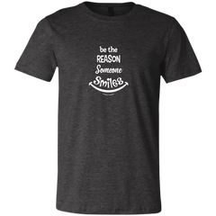 Be The Reason Someone Smiles Unisex Short-Sleeve T-Shirt