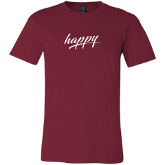 Just Happy Unisex Short-Sleeve T-Shirt