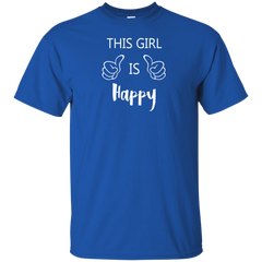 This Girl is Happy Child's Cotton T-Shirt