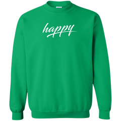 Just Happy Unisex Sweatshirt