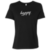 Just Happy Ladies' Relaxed Short-Sleeve T-Shirt