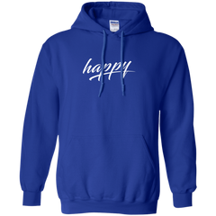 Just Happy Pullover Hoodie