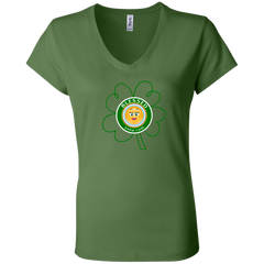 Blessed Ladies' Jersey V-Neck T-Shirt