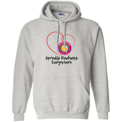 Unisex Pullover Hoodie - Sprinkle Kindness Everywhere