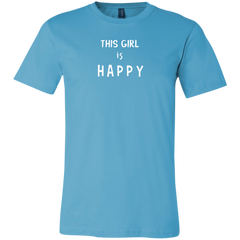 This Girl Is Happy Unisex Short-Sleeve T-Shirt
