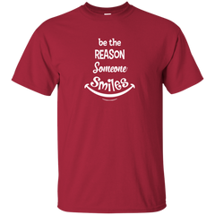 Be The Reason Someone Smiles Ultra Cotton Unisex T-Shirt