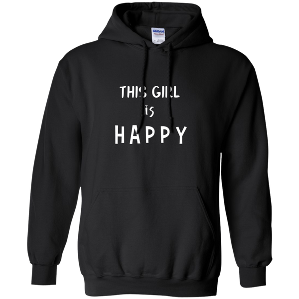 This Girl Is Happy Unisex Hoodie